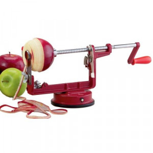 Apple peeler corer, Suction base
