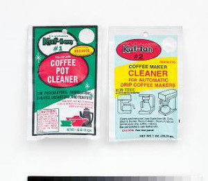 Coffee maker cleaner, Delimer decalcifier