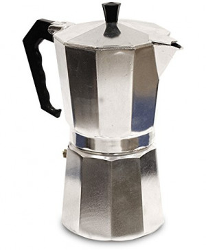 Espresso maker, 3 cup, Aluminum, Moka