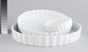 8 X 1 White Quiche