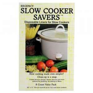 Slow cooker savers, Fits all round, 8/pack
