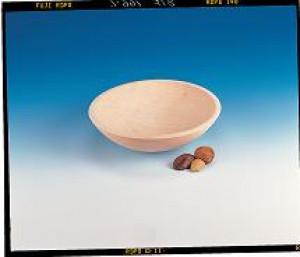 Wood chopping bowl