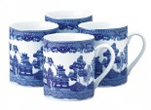 Mug, 10 oz., Blue Willow pattern