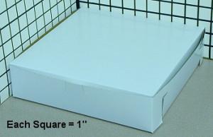 10X10X2.5 Pie & Cake Box, 250/pack