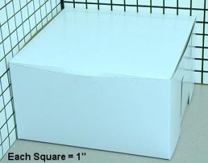 10X10X5.5 CAKE BOX CAKE SBS, 100/case