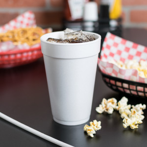 16 oz Tall foam cup, 40pk/25