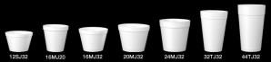 16 oz foam food container 20pk/25ea, Use lid 20JL