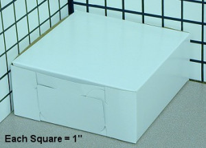 6X6X3 CAKE BOX, 250/cs