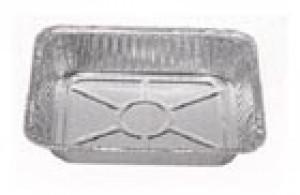 """1/2 size foil pan, 100/cs 2.5"""" DEEP"""