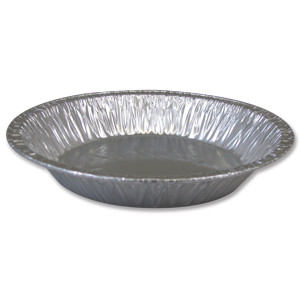 "8"" Foil pie pan, 1000/cs"