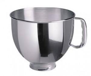 5 qt Polished bowl w/ Handle for KSM150