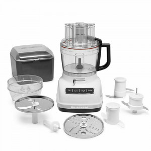 Food processor, 13 cup white