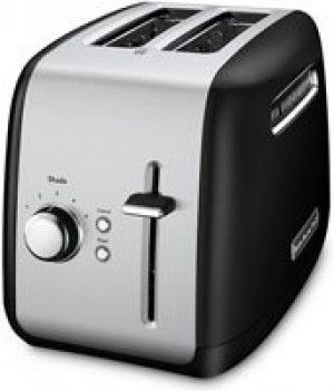 2 slice all metal toaster Onyx Black