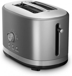 2 Slice All Metal Toaster Contour Silver
