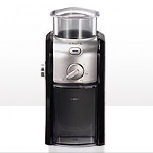 Burr grinder, Black & Metal, 17 Settings