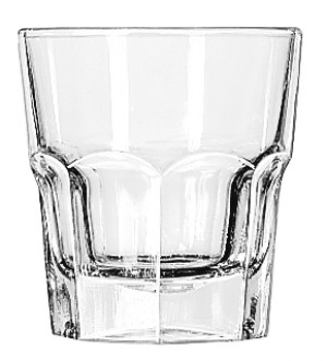 Tall rocks glass, 9 oz., Duratuff, 3dz/case