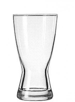 Pilsner Glass, 12 ounce, hourglass, 2dz/case