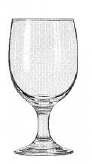 Goblet Glass, 11-1/2 ounce, Embassy, 2dz/case