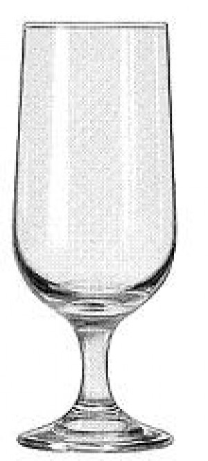 Beer Glass, 12 ounce, Embassy, Footed, 2dz/case