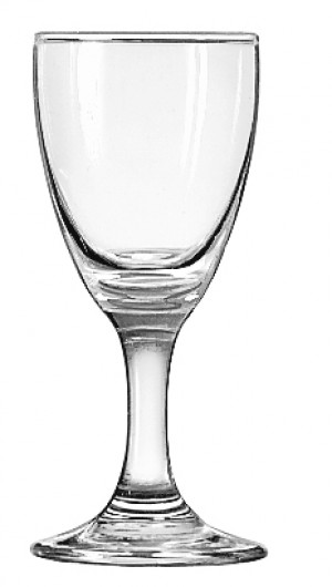 3 ounce sherry glass, 1dz/case