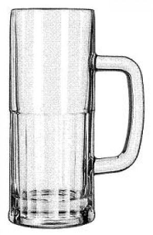 Beer Glass, 22 ounce, 1dz/case