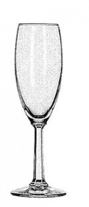 6oz Champagne Flute Napa Valley, 1dz/case