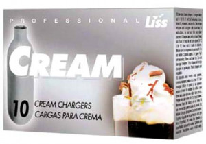Whip Cream chargers cartridge, 10/bx, N2O