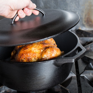 Logic dutch oven, 7 qt, Cast iron w/o Handle