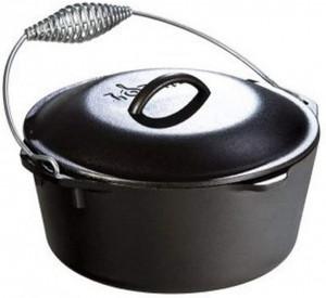 Cast Iron Dutch Oven 5qt