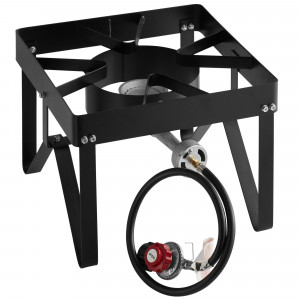 Outdoor Propane burner & cooker stand, 55,000 BTU