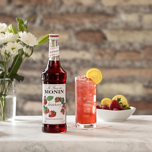 Monin Strawberry syrup, 750ml