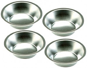 "Mini Pie Pan Set of 4 Tin 5""x1.25"""
