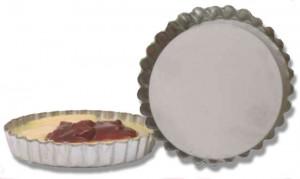 "Quiche & tart pan, 4.75"""