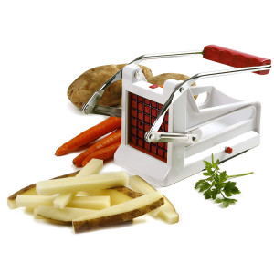 French fry cutter w/ suction base & 2 plates