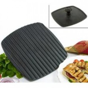 Cast iron nonstick panini press