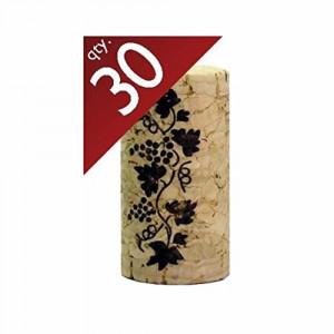 "Corks, 30 per bag, #9x1.5"", Premium straight"