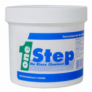 One Step Cleaner, 8 ounces, Rinsing not necessary
