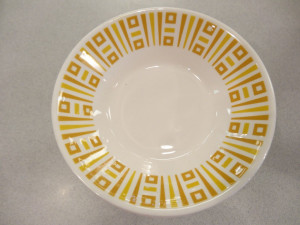 Syracuse China Ambert Gold Fruit Dish