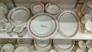 "Syracuse China Captains Table 10 3/8"" platter"