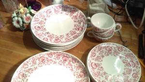 """Mayflower 10"""" Dinner Plate"""
