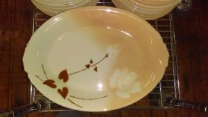 """Madam Butterfly 14"""" platter"""