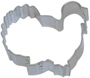 "3"" Turkey cookie cutter"