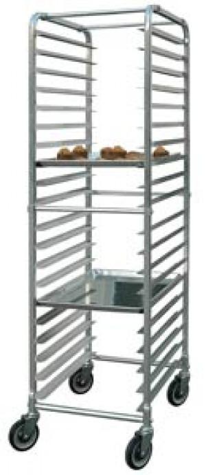 Bun rack, Aluminum, 20 pan capacity
