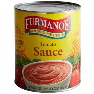 Furmano's Tomato Sauce, #10 can