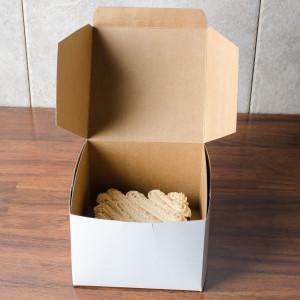 5.5x5.5x4 Cake Boxx, 250/pack