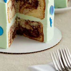 "9"" Cake Circle, Grease Resistant 100/CS"