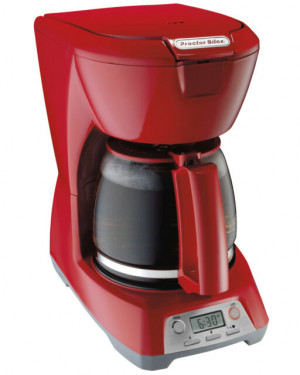 12 cup coffeemaker, Red, programmable