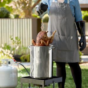 30 qt Stainless turkey fryer  set