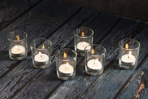 Votive candle holder