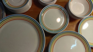 "Spectrum 7.25"" Lunch Plate"